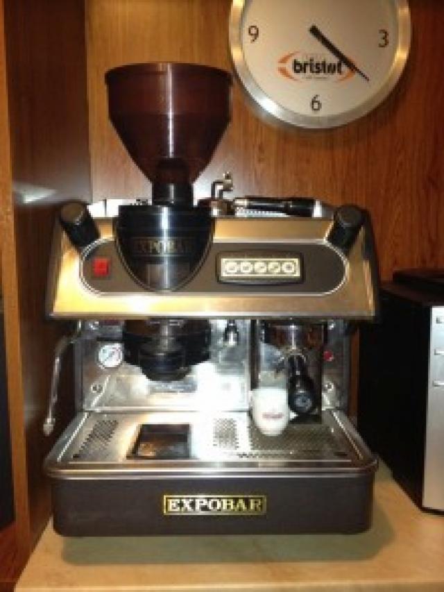 Expobar 1 karos automata kávéfőzőgép