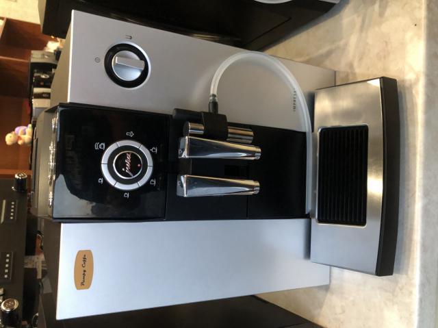 Jura F7 Platinum automata kávégép