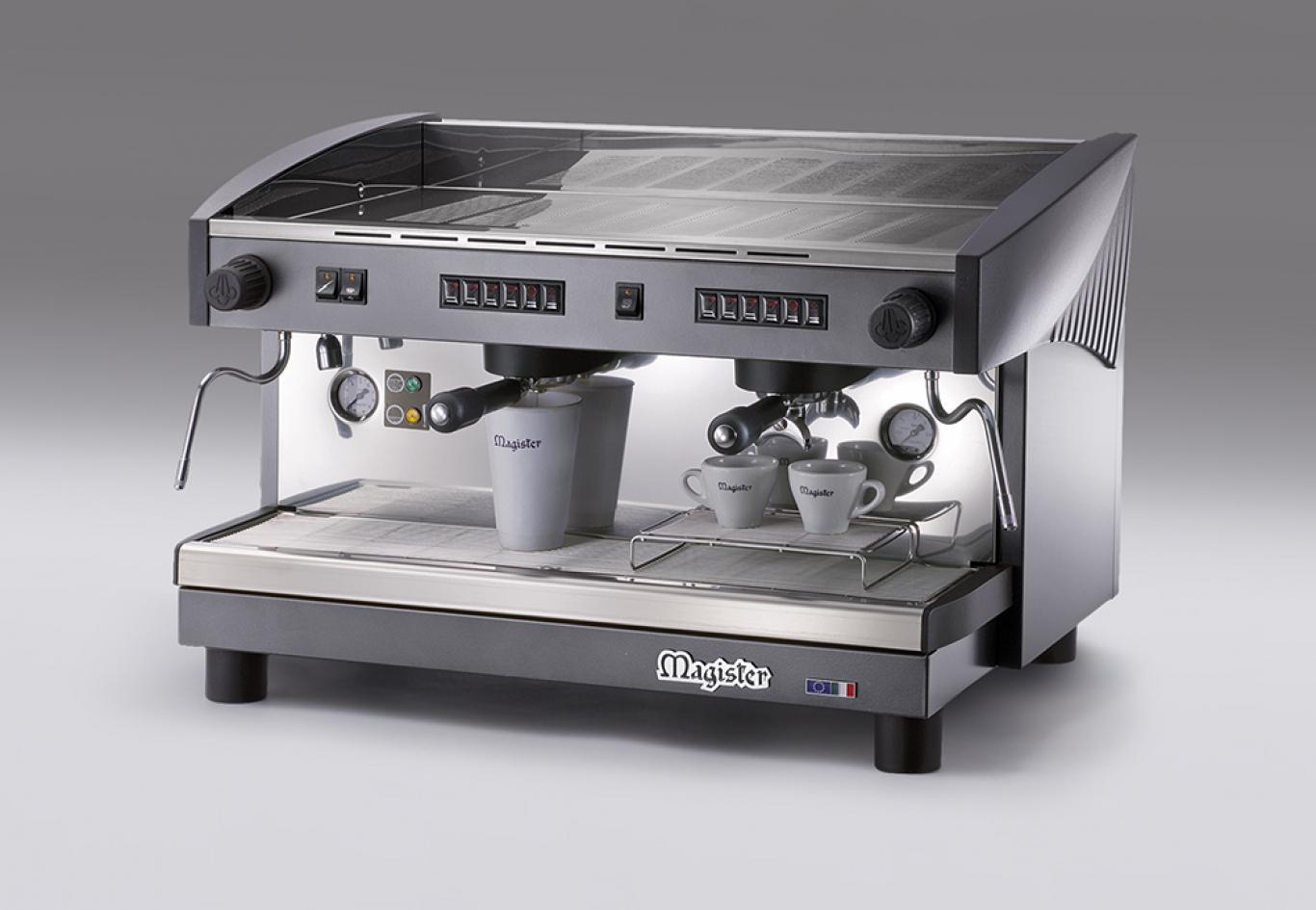 2 karos automata kávéfőzőgép, karos kávéfőző, karos
