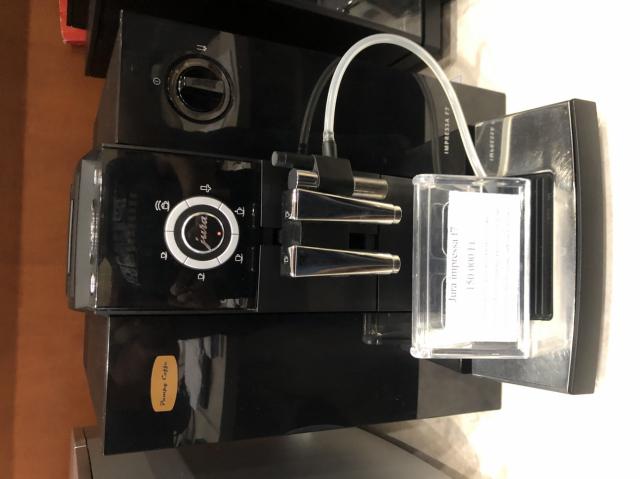 Jura F7 Piano black automata kávégép